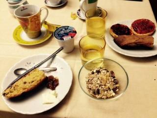 colazione biologica dolce italiana b&b trichiana belluno orto alpino