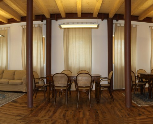 salone affitto noleggio b&b dolomiti belluno orto alpino